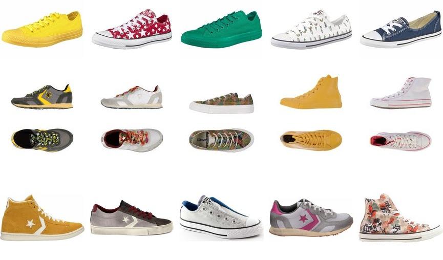 Converse die zeitloser Klassiker Sneakers