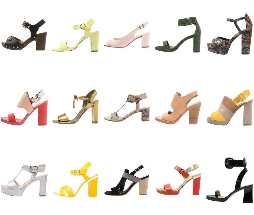 Sandaletten mit Blockabsatz – must have diesen Sommer.